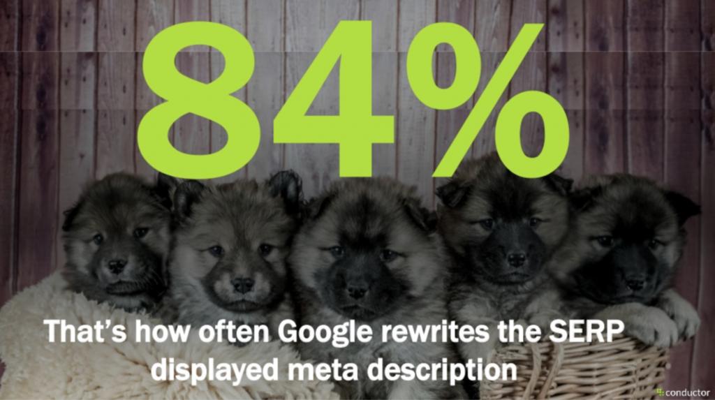Google herschrijft de meta description